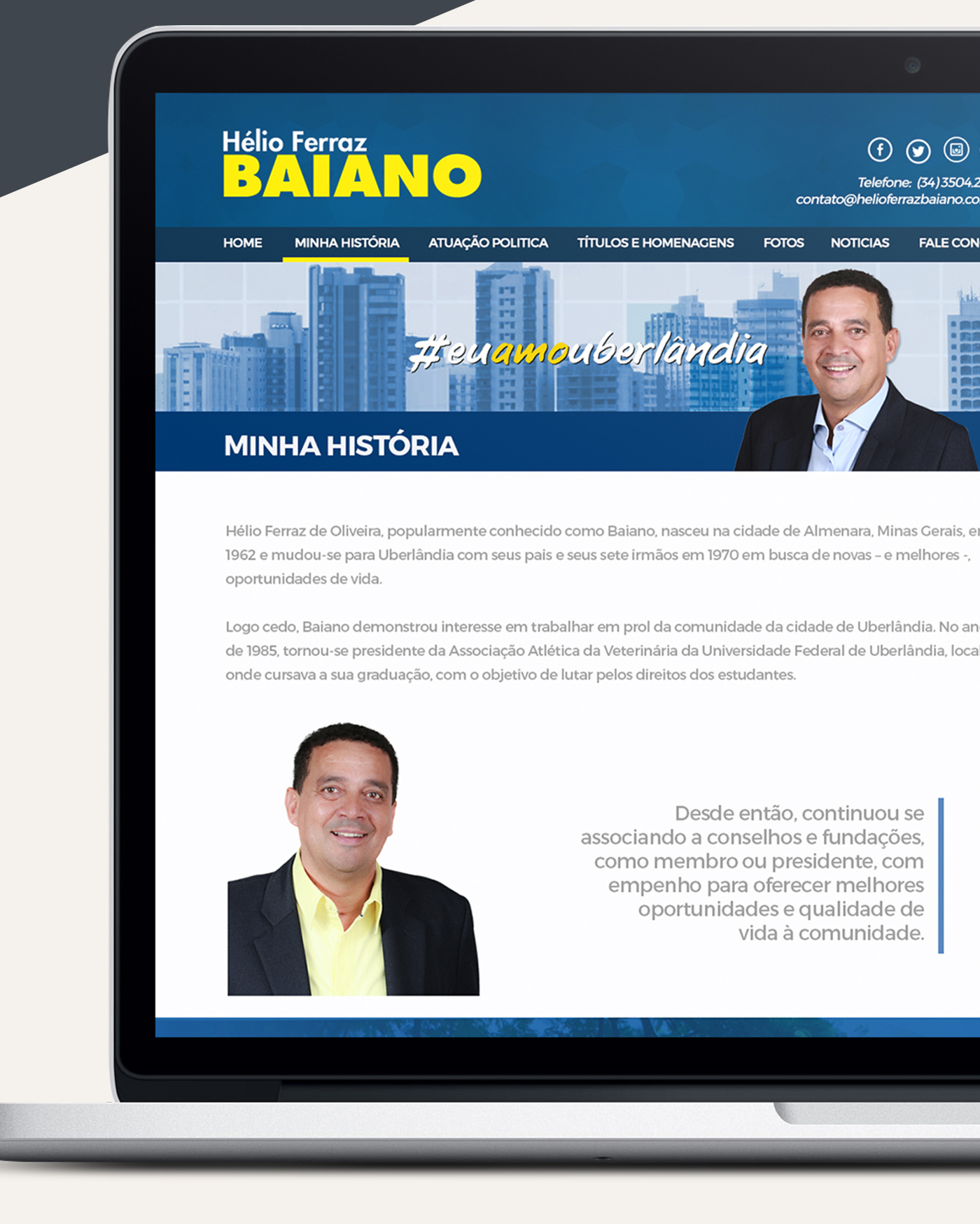 Vereador Hélio Ferraz Baiano